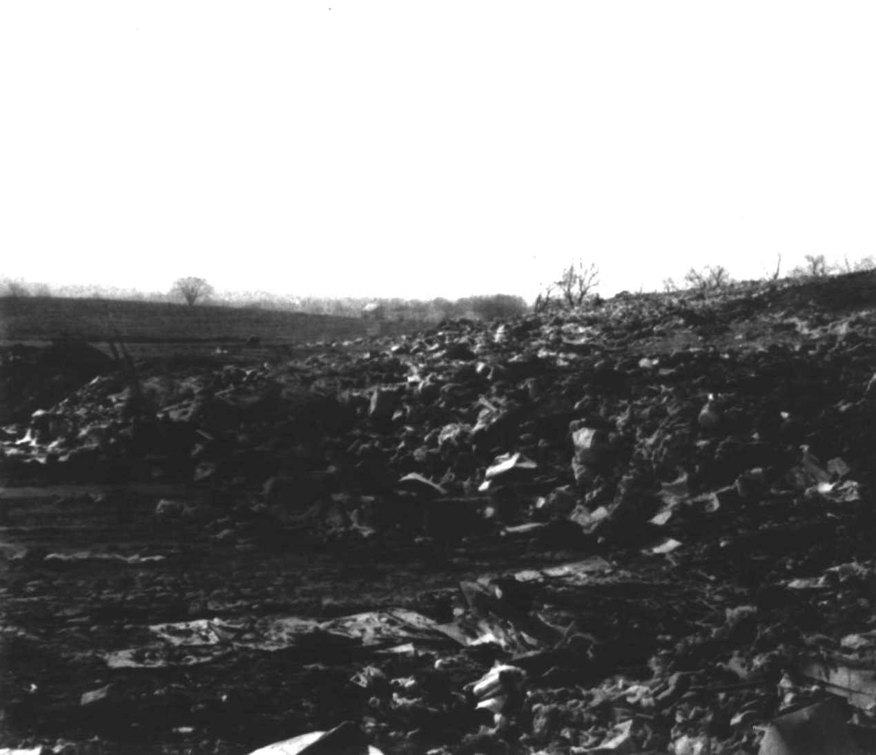 The Regional Planning Commission early landfill